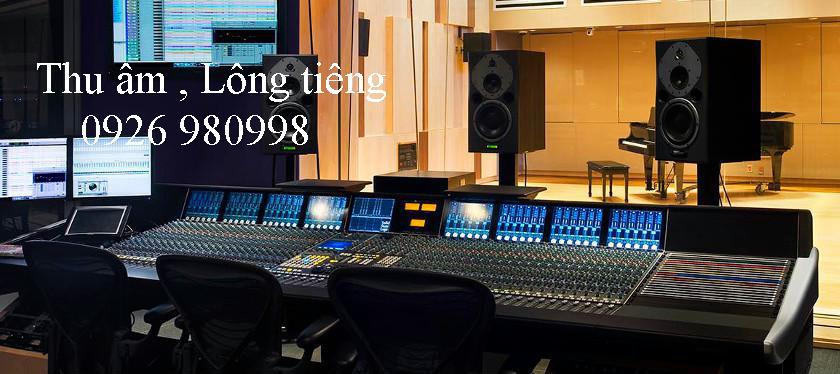 Thu âm giá rẻ , phòng thu âm chuyển nghiệp